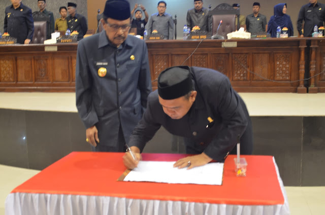 DPRD Sinjai Setujui Ranperda Pertanggungjawaban Pelaksanaan APBD 2017