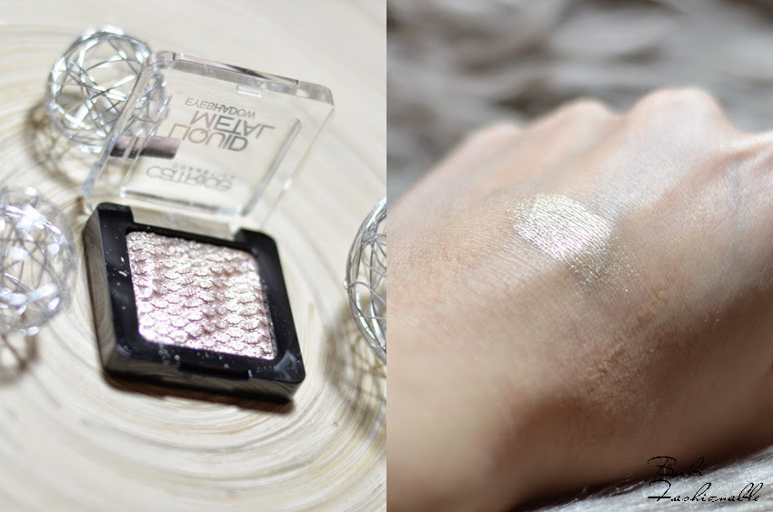 Catrice Liquid Metal Eyeshadow offen Swatch
