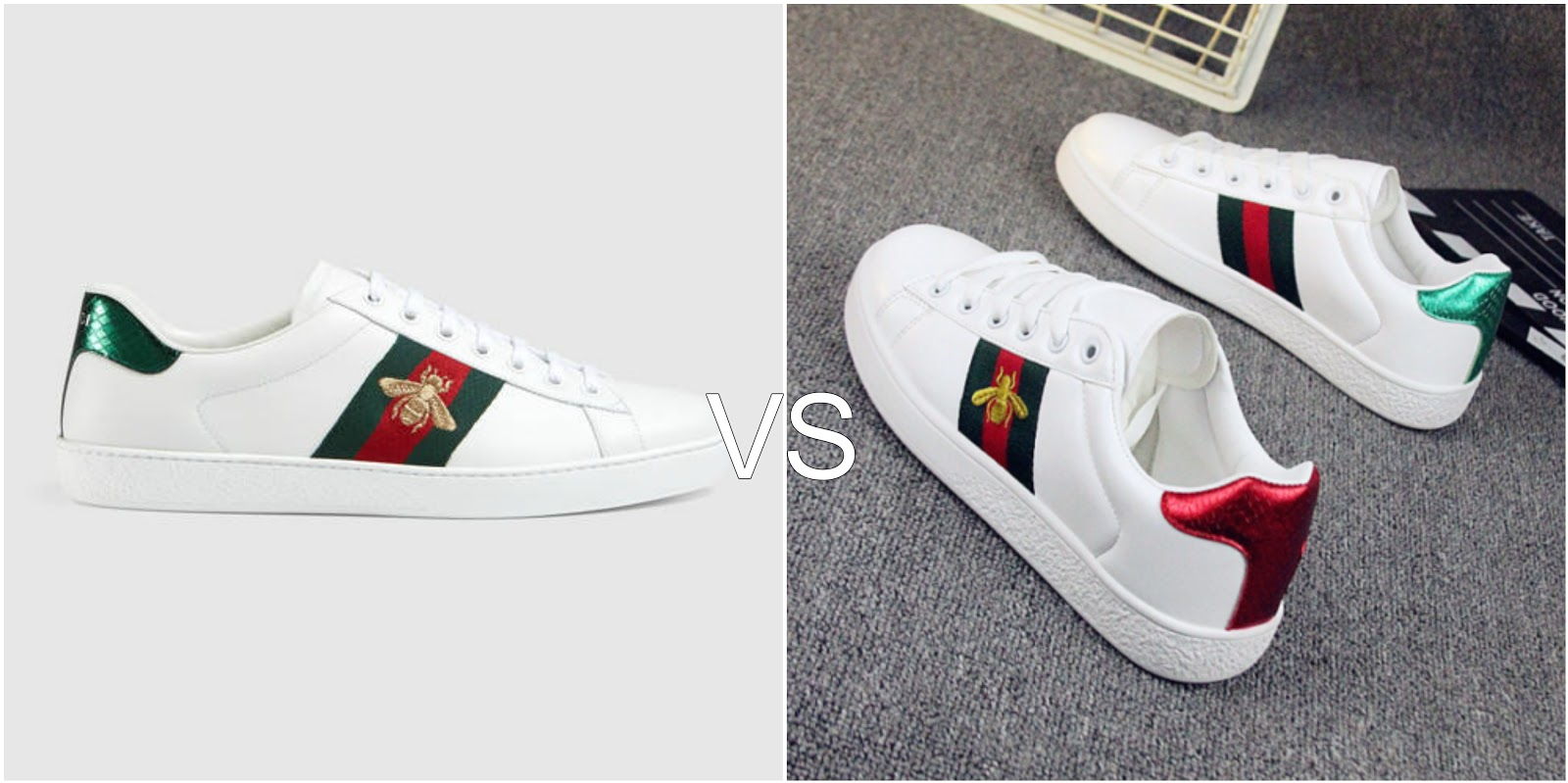 The Gucci Bee Sneakers have been all over my instagram feed recently and I  am obsessed with them. Unfortunately I don't have £450 to spare but the  replicas ...