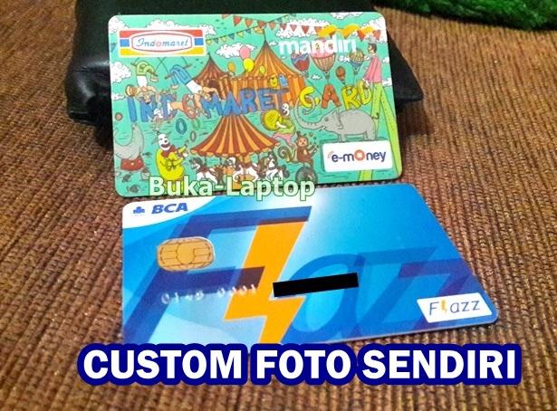 Bikin e Money Custom, Kartu E-Money / Emoney Mandiri ...