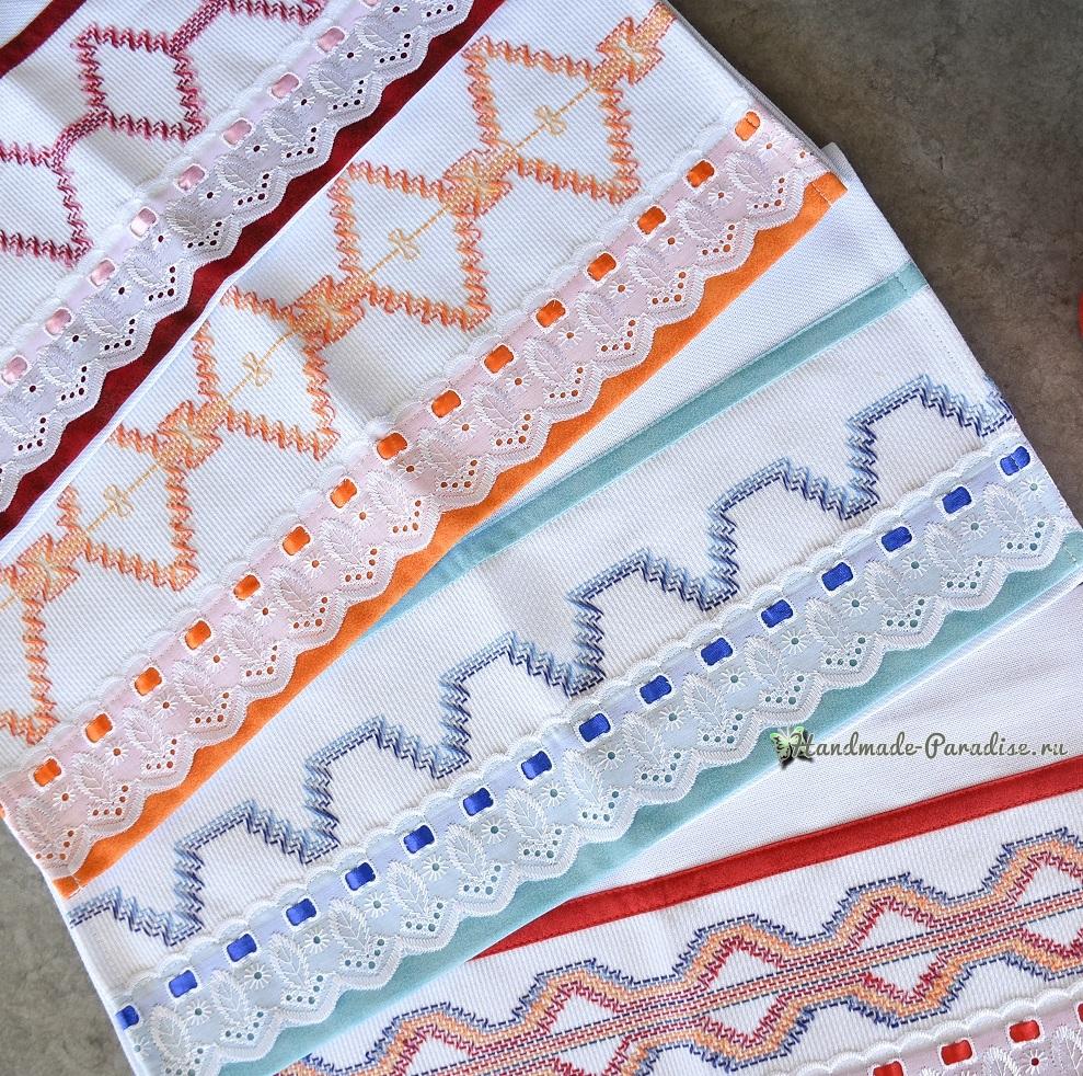 Схемы вышивки для декорирования полотенца (5)