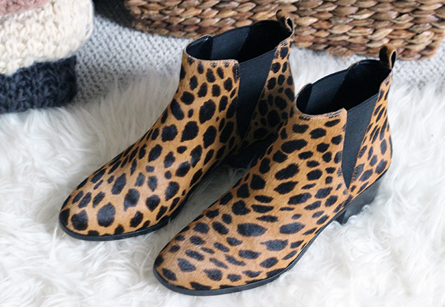 Cheetah Print Boot