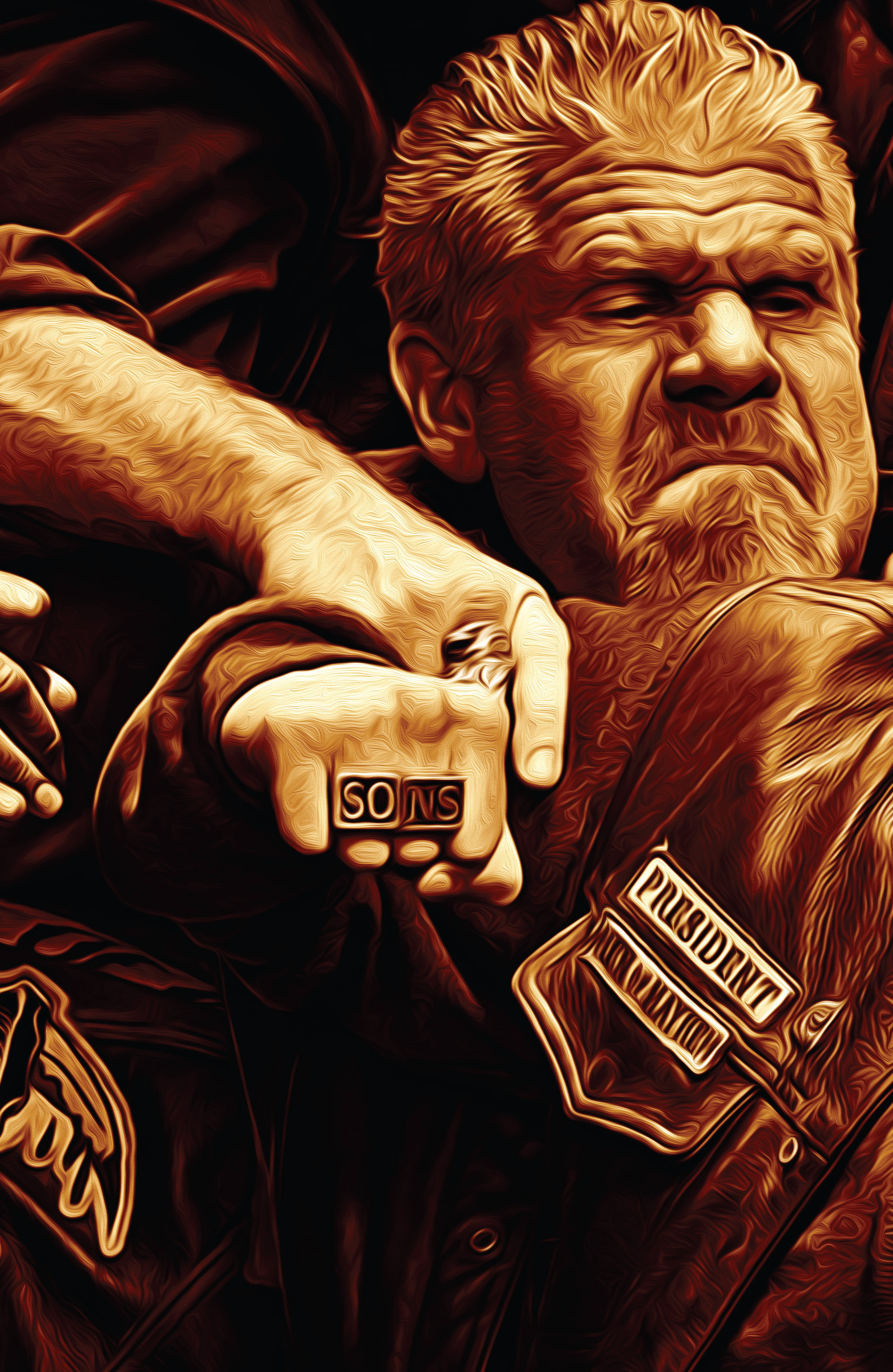Read online Sons of Anarchy comic -  Issue #4 - 2