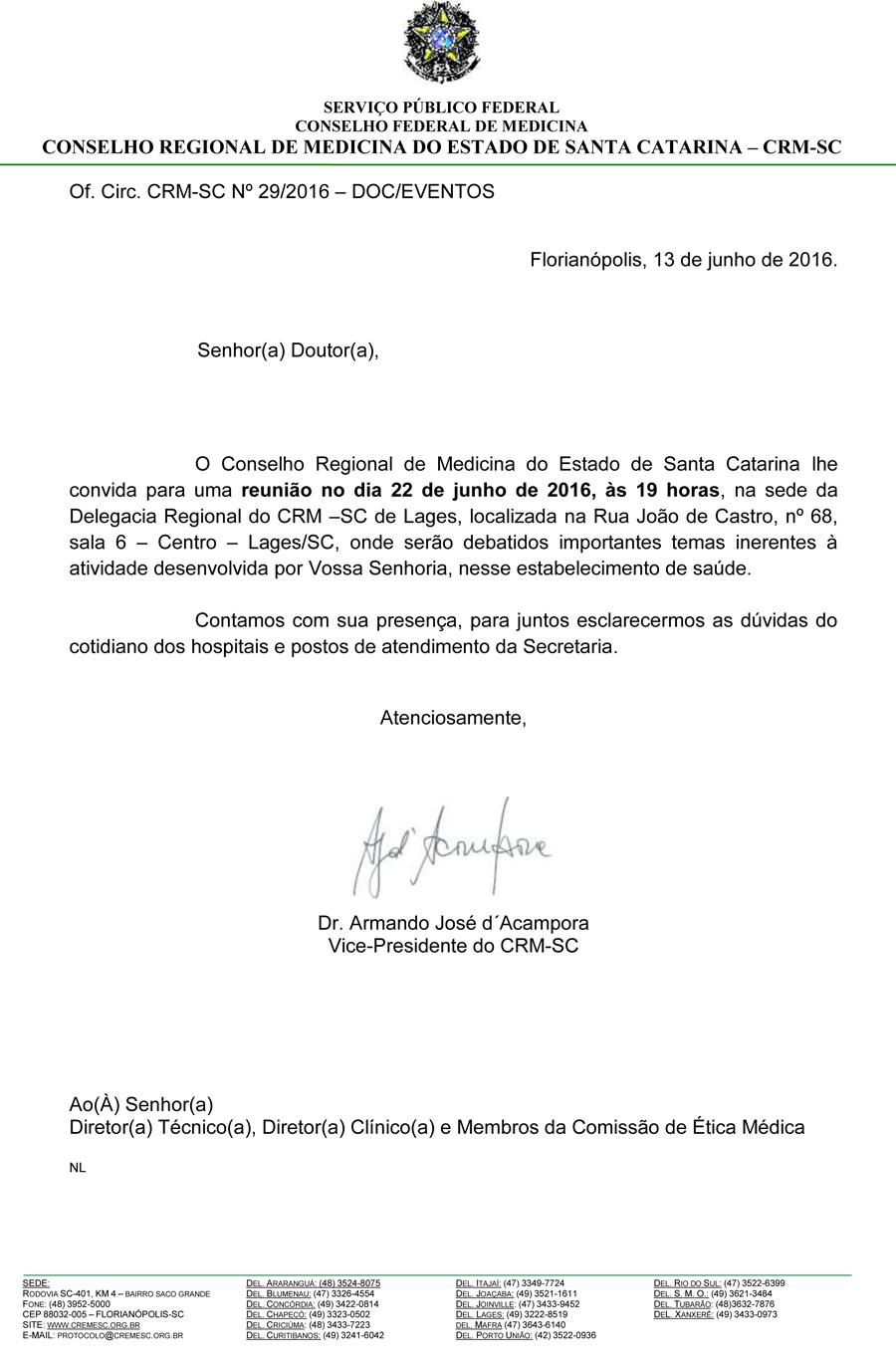 0da2d589042 Reunião em Chapecó
