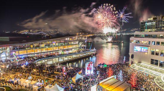 Festas, bares e restaurantes de Vancouver no ano-novo