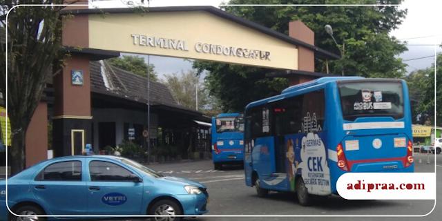 Gapura Pintu Masuk Terminal Condongcatur | adipraa.com