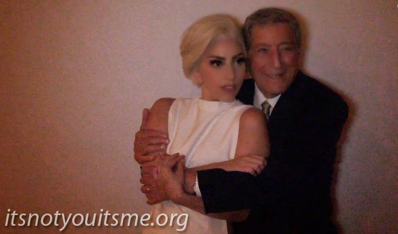 ItsNotYouItsMe Blog: Tony Bennett, Lady Gaga - I Can't Give