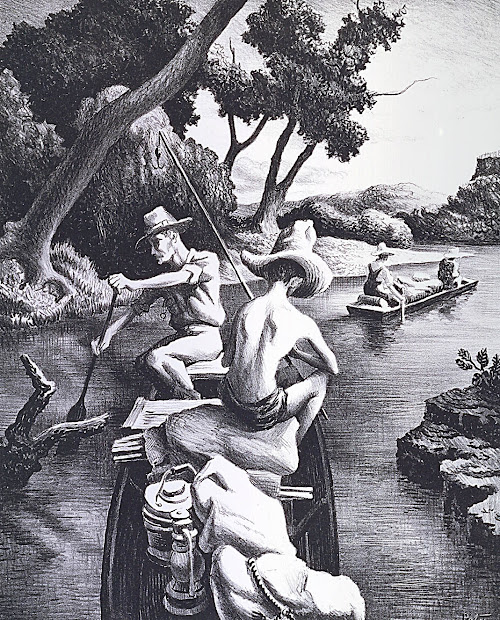 Thomas Hart Benton Lithographs