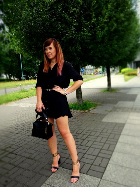 Długa koszula jako sukienka
