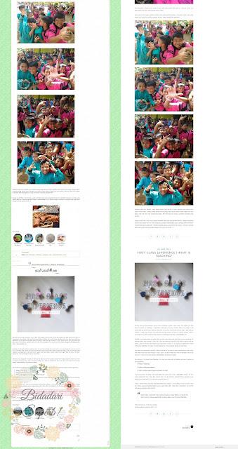 Bidadari Superb Bertukar ke Responsive Blog