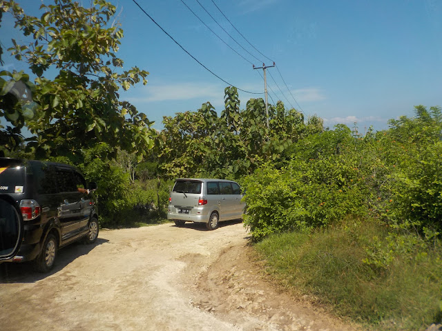 Medan menuju Spot Wisata Nusapenida