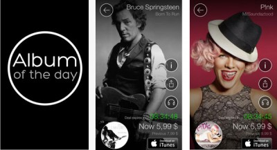 Sony Diskon 70 % Aplikasi Musik di 'Album of The Day'