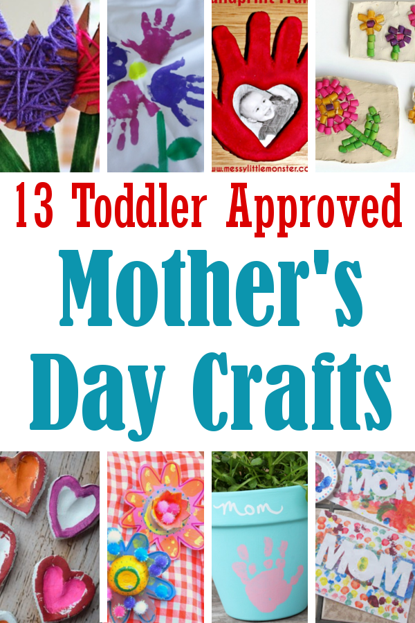 13 Toddler Approved Mother S Day Crafts Diy Home Sweet Home