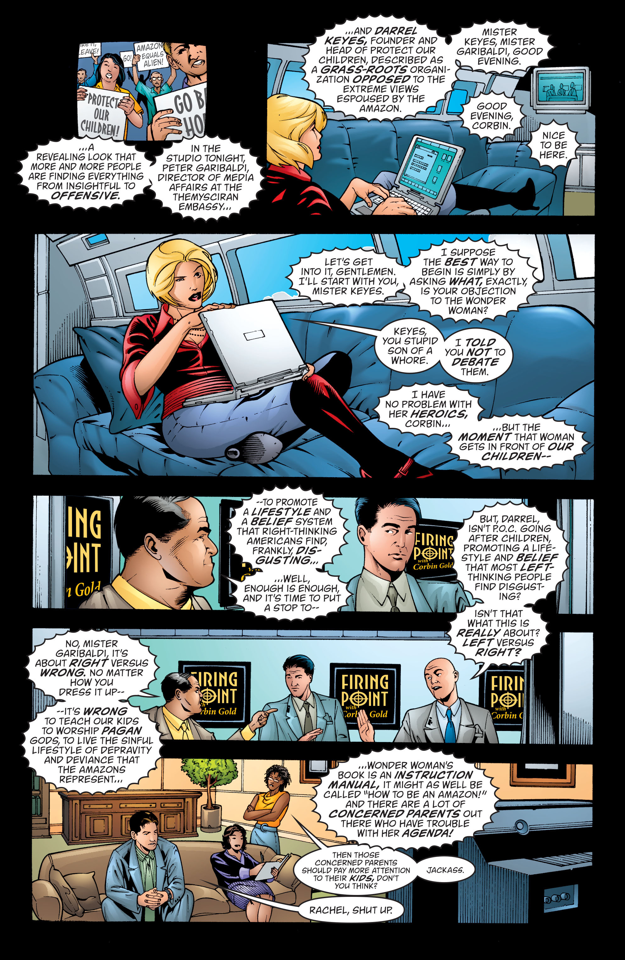 Read online Wonder Woman (1987) comic -  Issue #198 - 17