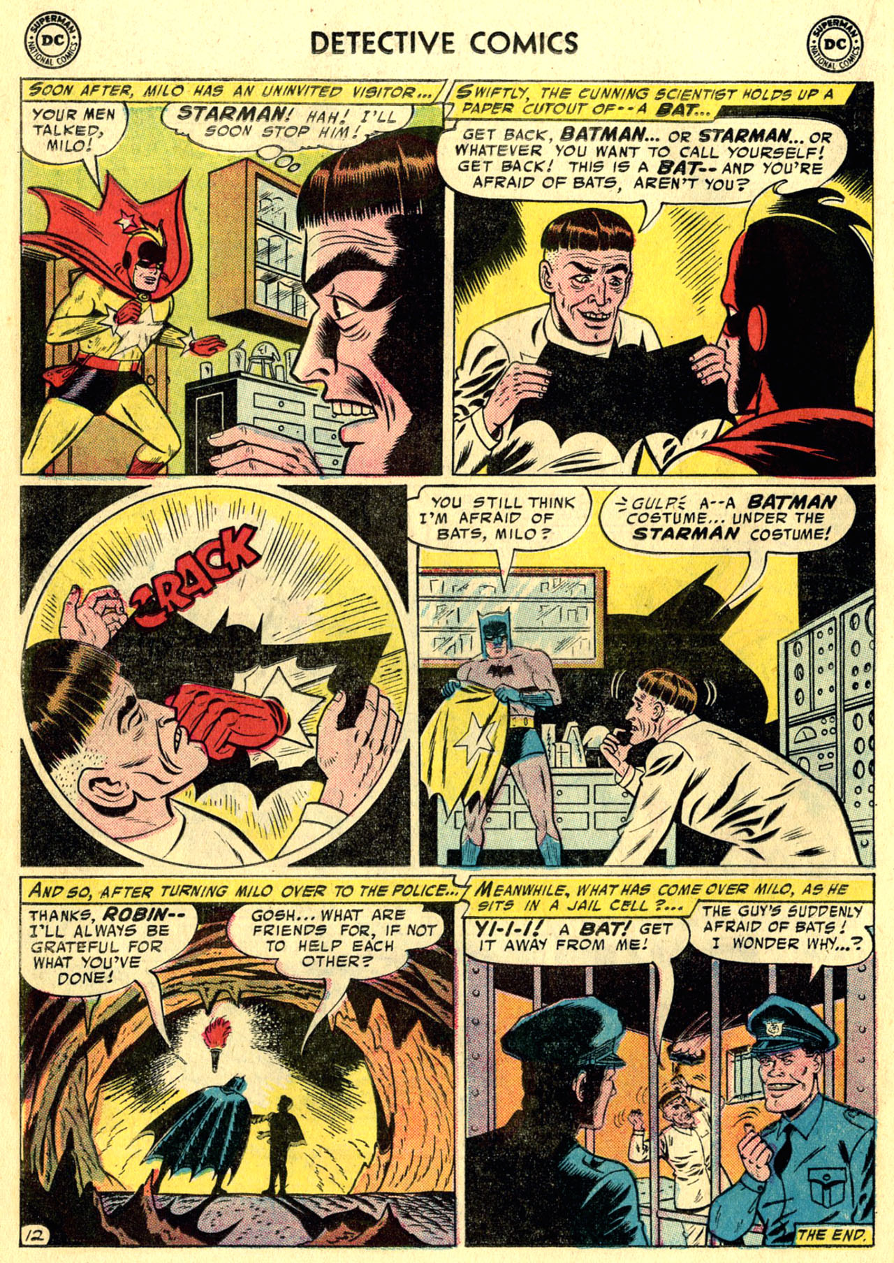 Read online Detective Comics (1937) comic -  Issue #247 - 14
