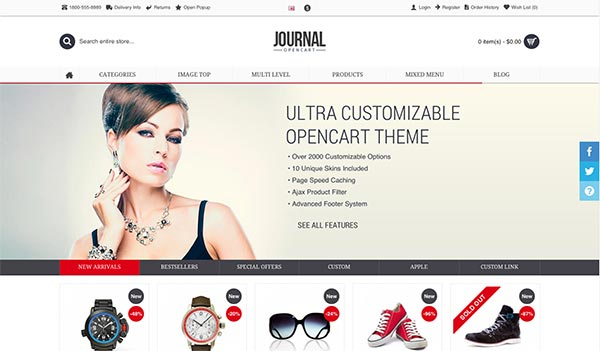 Journal Opencart Theme Download