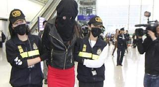 Φωτογραφίες-ντοκουμέντα του 19χρονου μοντέλου πριν συλληφθεί στο Χονγκ Κονγκ