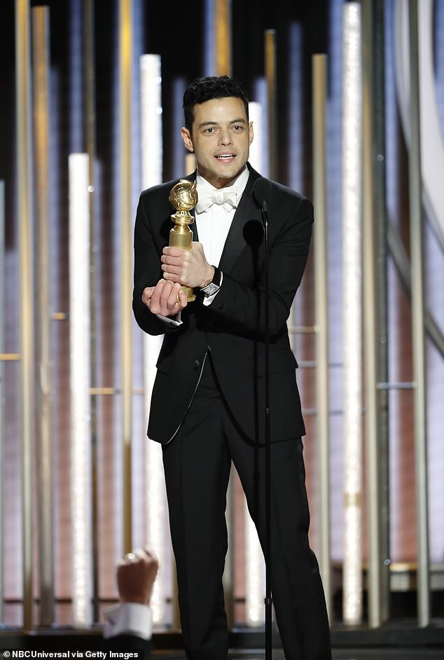 Rami Malek gets accidentally snubbed by Nicole Kidman on stage at Golden Globes