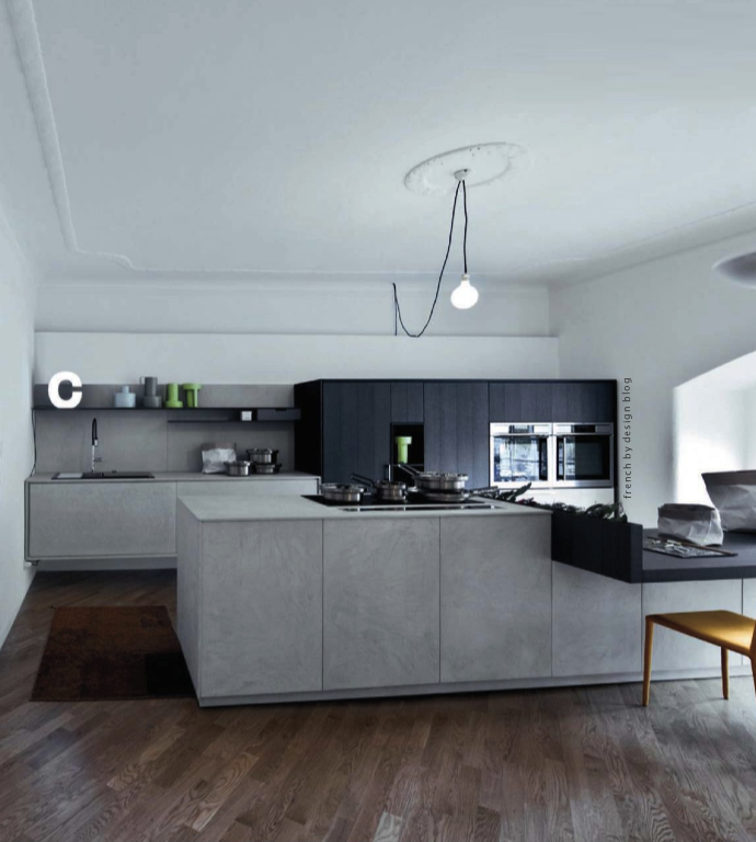 Decordemon: INSPIRATION: CONCRETE KITCHENS