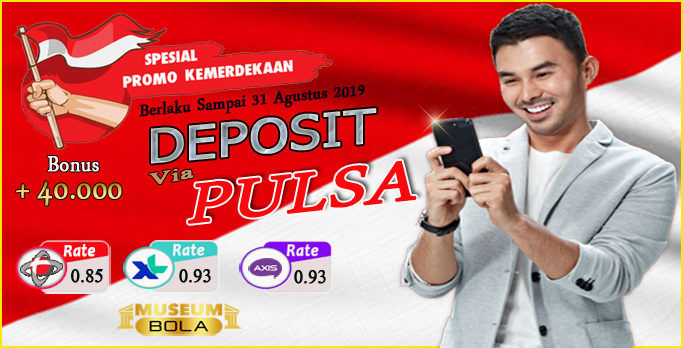 Bonus Deposit Pulsa