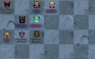 Đội nhóm 4 Troll - 3 Warlock - 2 Beast giống như áp dụng ở thời đoạn giữa round