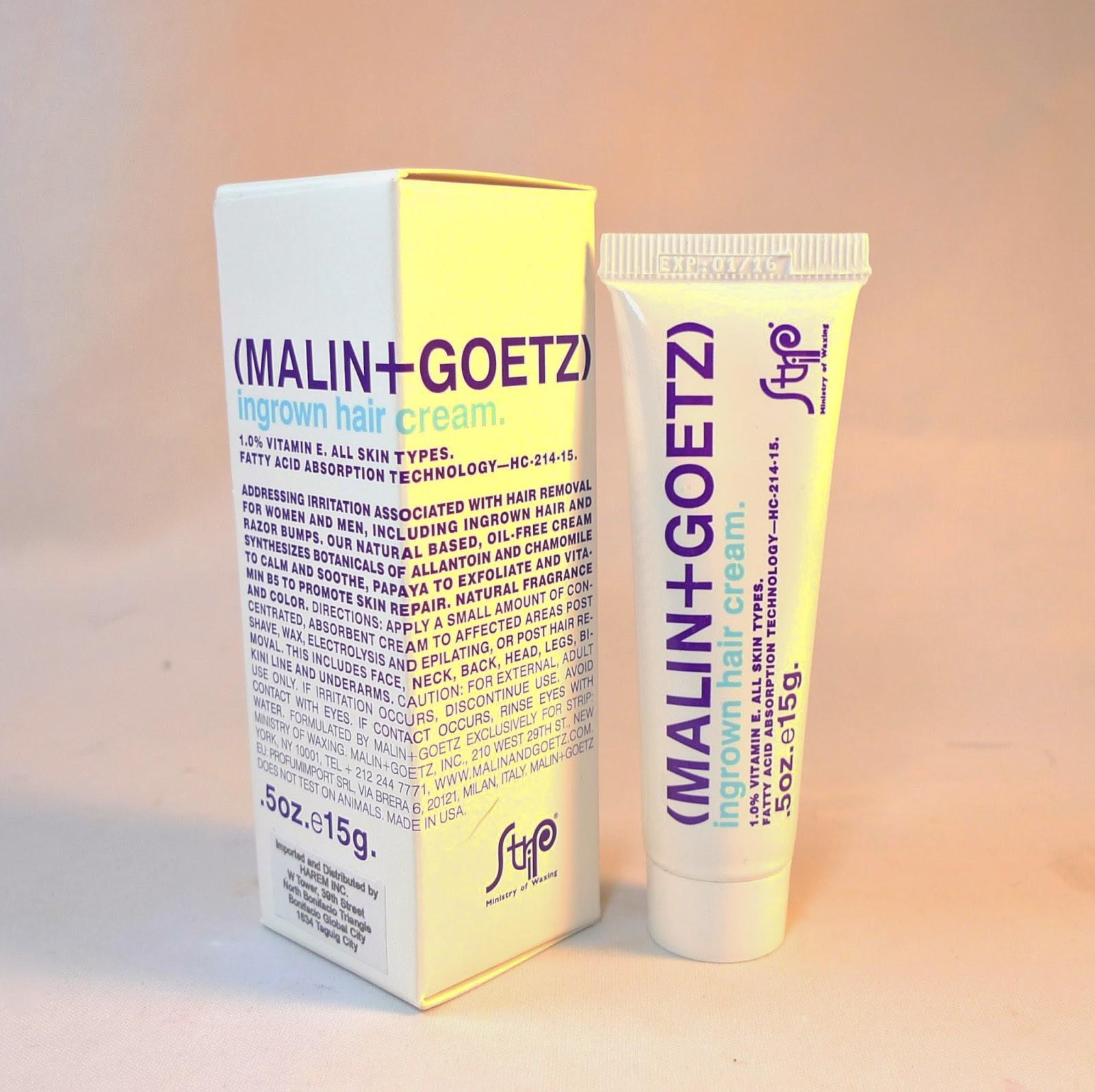 Malin+Goetz Ingrown Hair Cream Review | The Beauty Junkee
