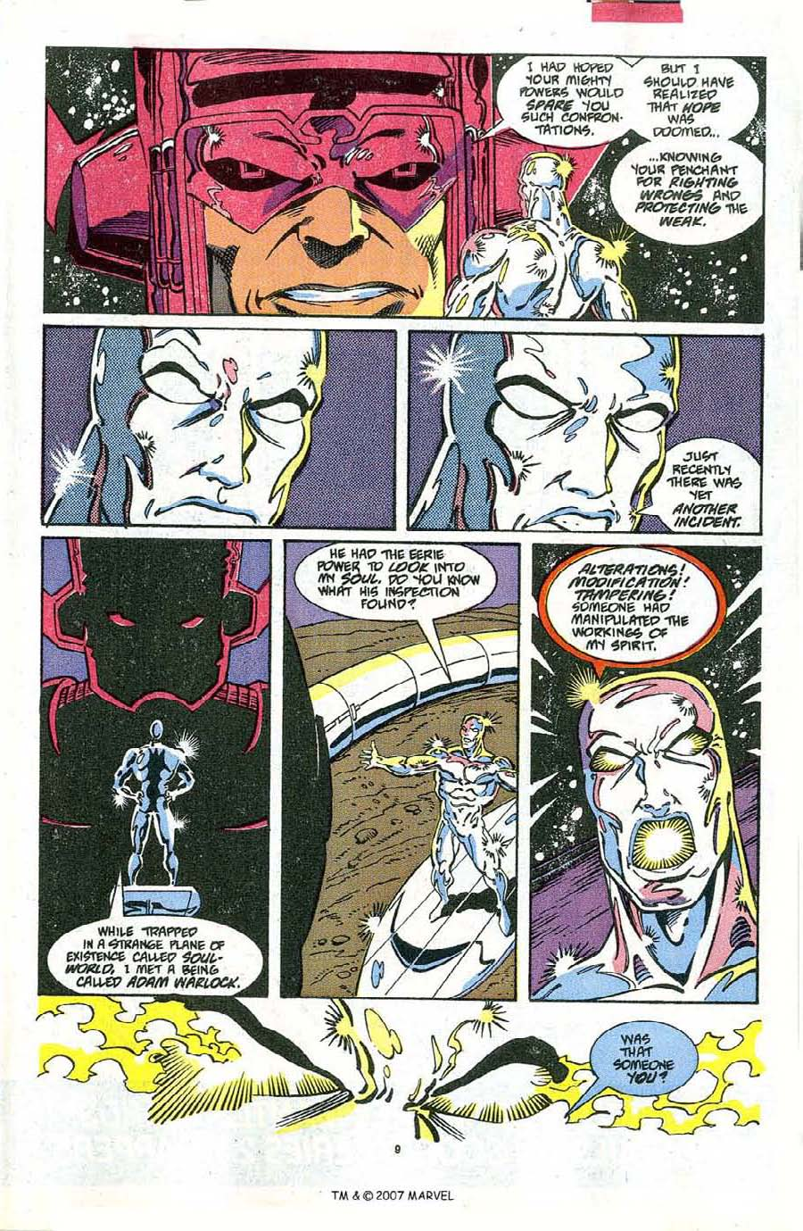 Read online Silver Surfer (1987) comic -  Issue #48 - 11
