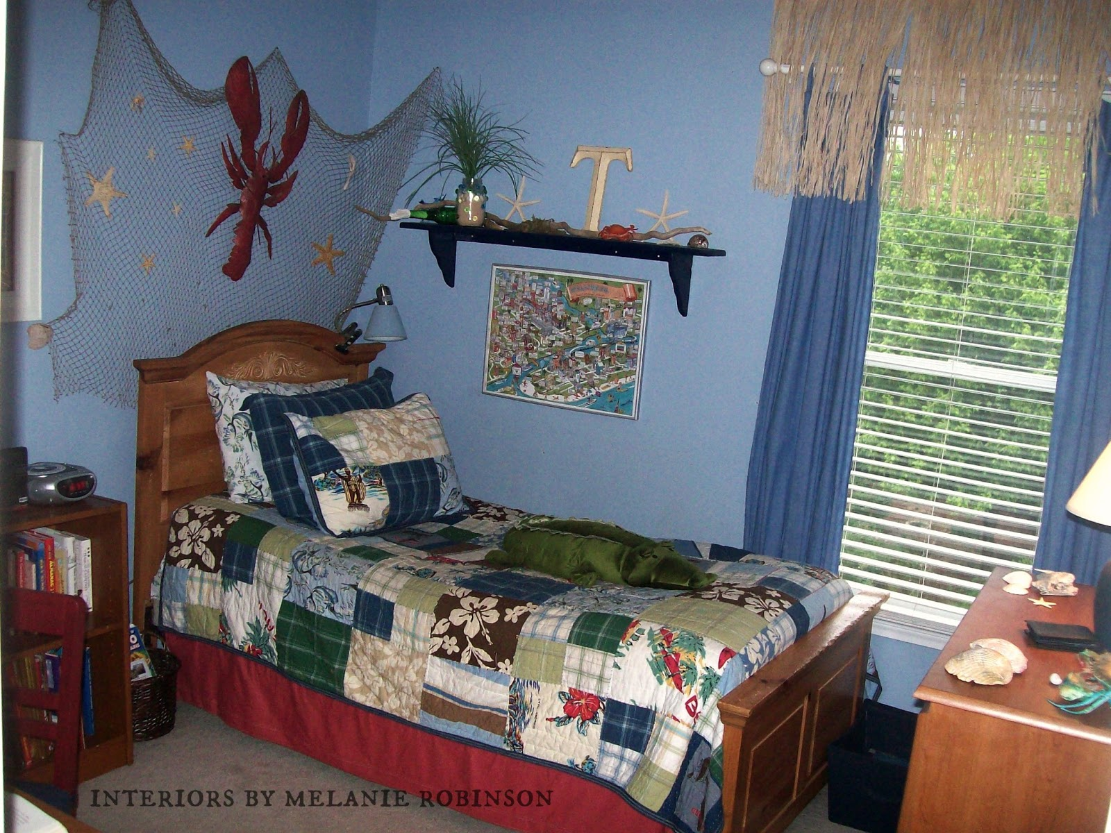 Teen Boy S Room Reveal On The Painted Chandelier