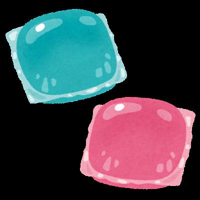 ジェルボール洗剤のイラスト