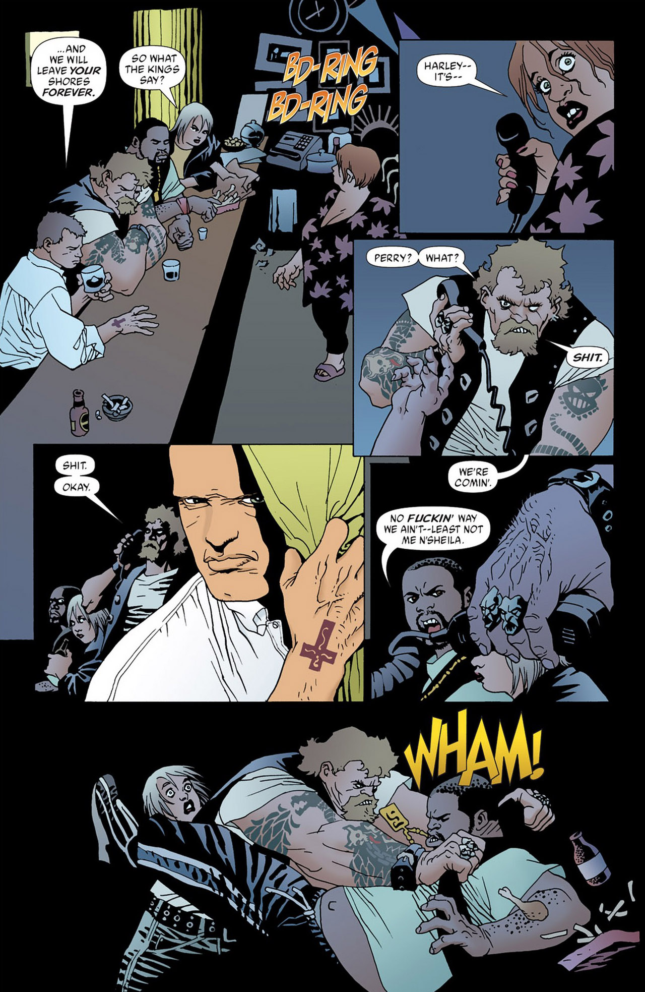 Read online 100 Bullets comic -  Issue #50 - 16