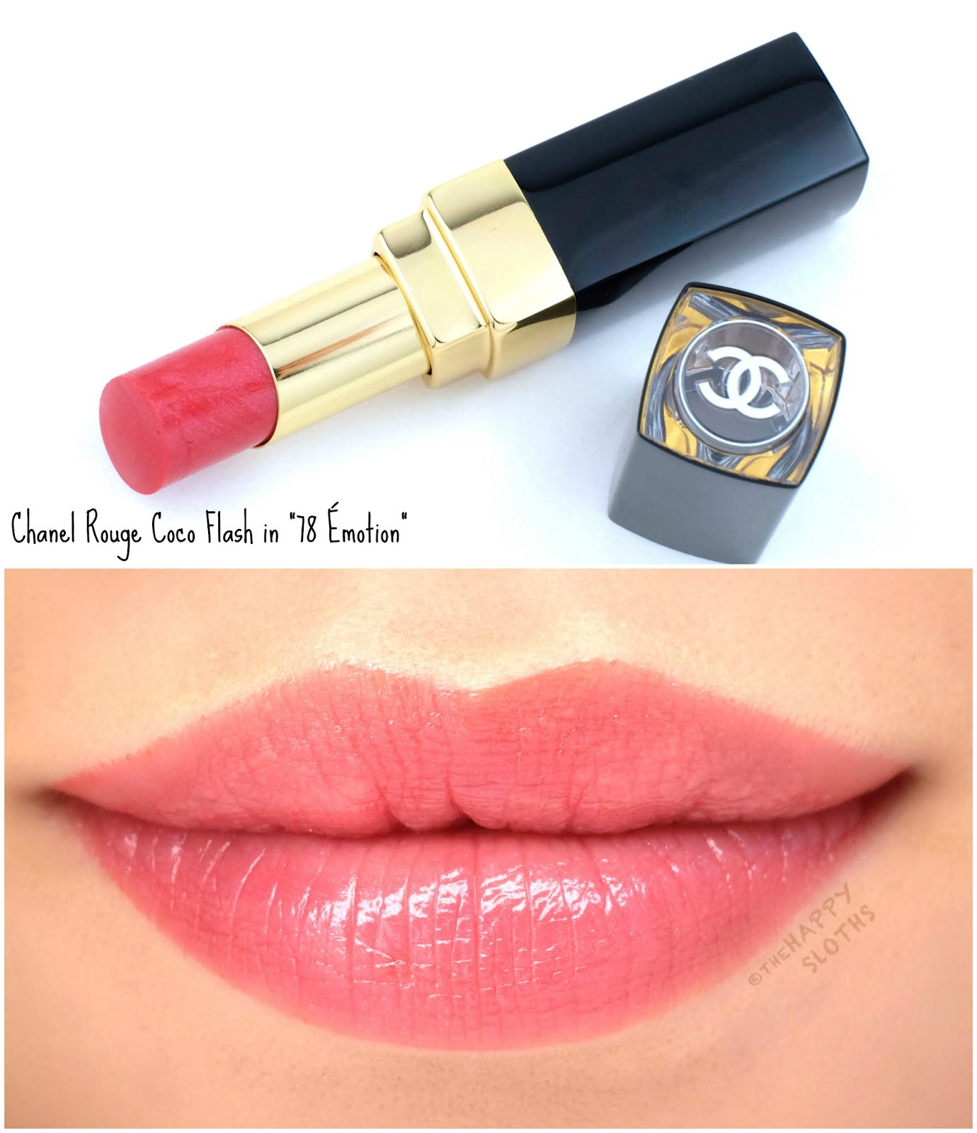 "Chanel | Rouge Coco Flash in ""78 Émotion"": Review and Swatches"