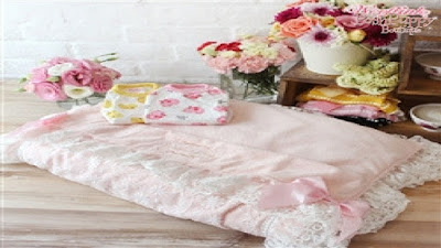 GOOD NIGHT BABY SLEEPING BAG BED - PINK