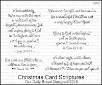 ODBD Christmas Card Scriptures