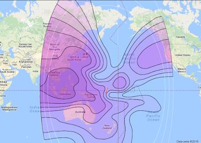 Satelit Intelsat 19 166.0°E CBand