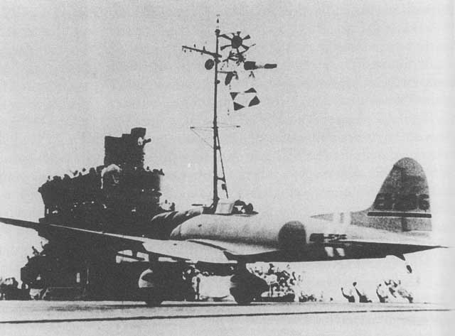 A Japanese bomber taking off from Japanese carrier Zuikaku 20 January 1942 worldwartwo.filminspector.com