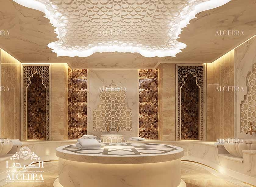 Algedra interior and exterior design uae charming for Classic design interior