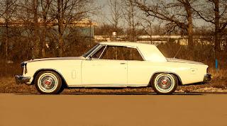 1962 Studebaker Gran Turismo Hawk  Side Left
