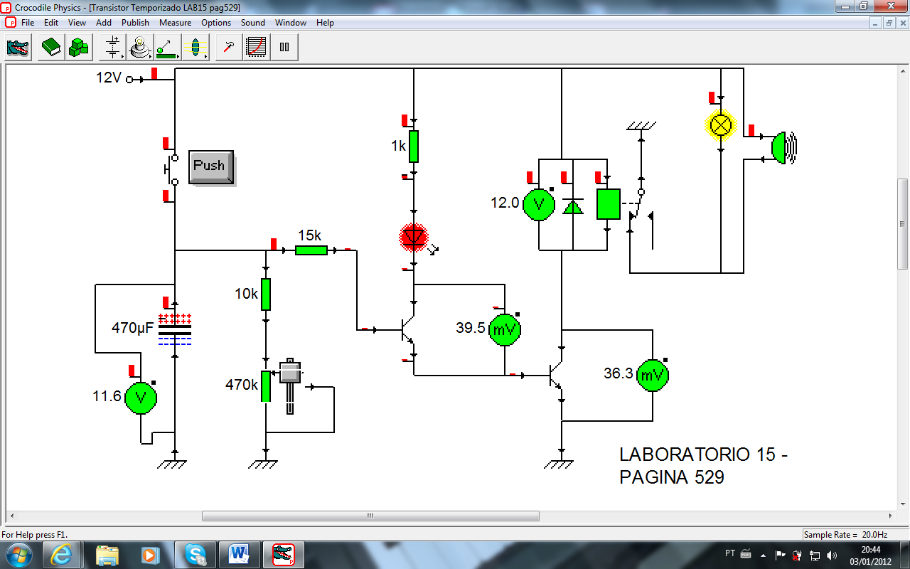 Circuito Temporizador : Automação criativa circuito temporizador utilizando