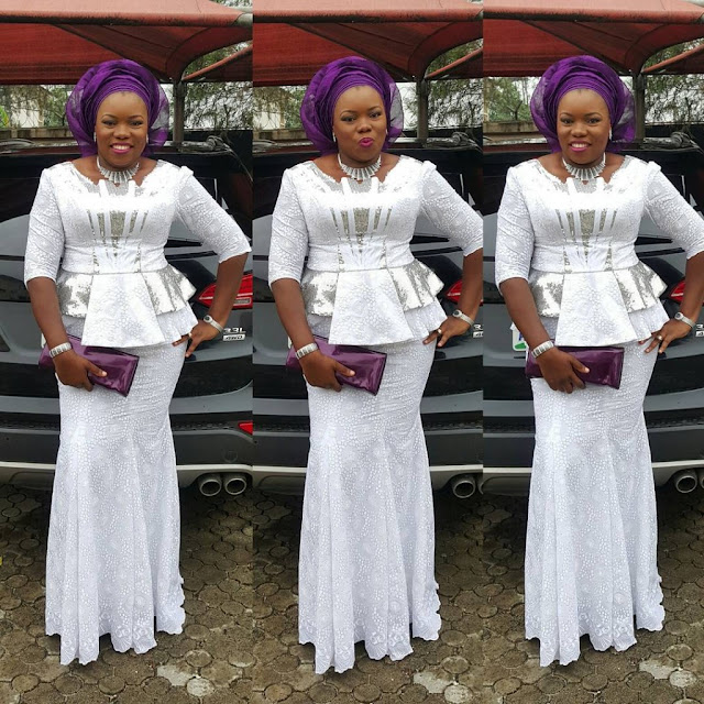 Creative Lace Skirt and Blouse Style | Fashion Style Nigeria