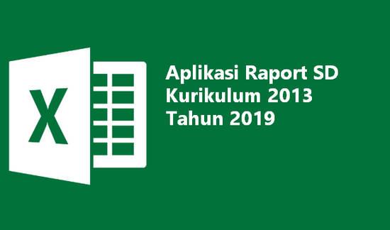 Berikut ini kami bagikan Aplikasi Raport SD Kurikulum  Aplikasi Raport SD Kurikulum 2013 Tahun 2019