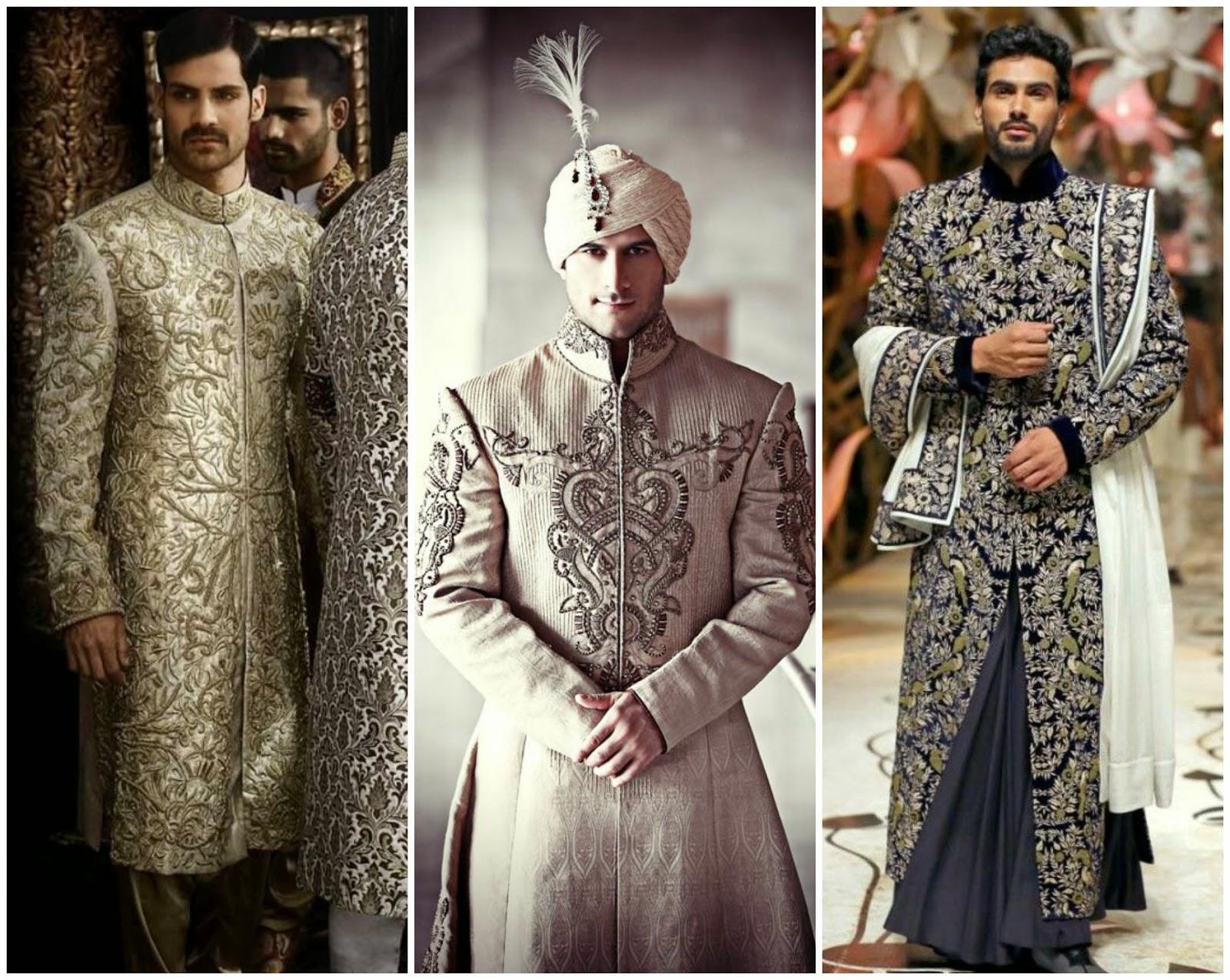 wedding work sherwani, latest designer heavy sherwani, work sherwani