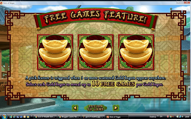 God of Wealth Slot machine Features: Free Spins