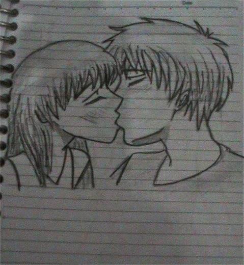 Gambar Kartun Dengan Pensil