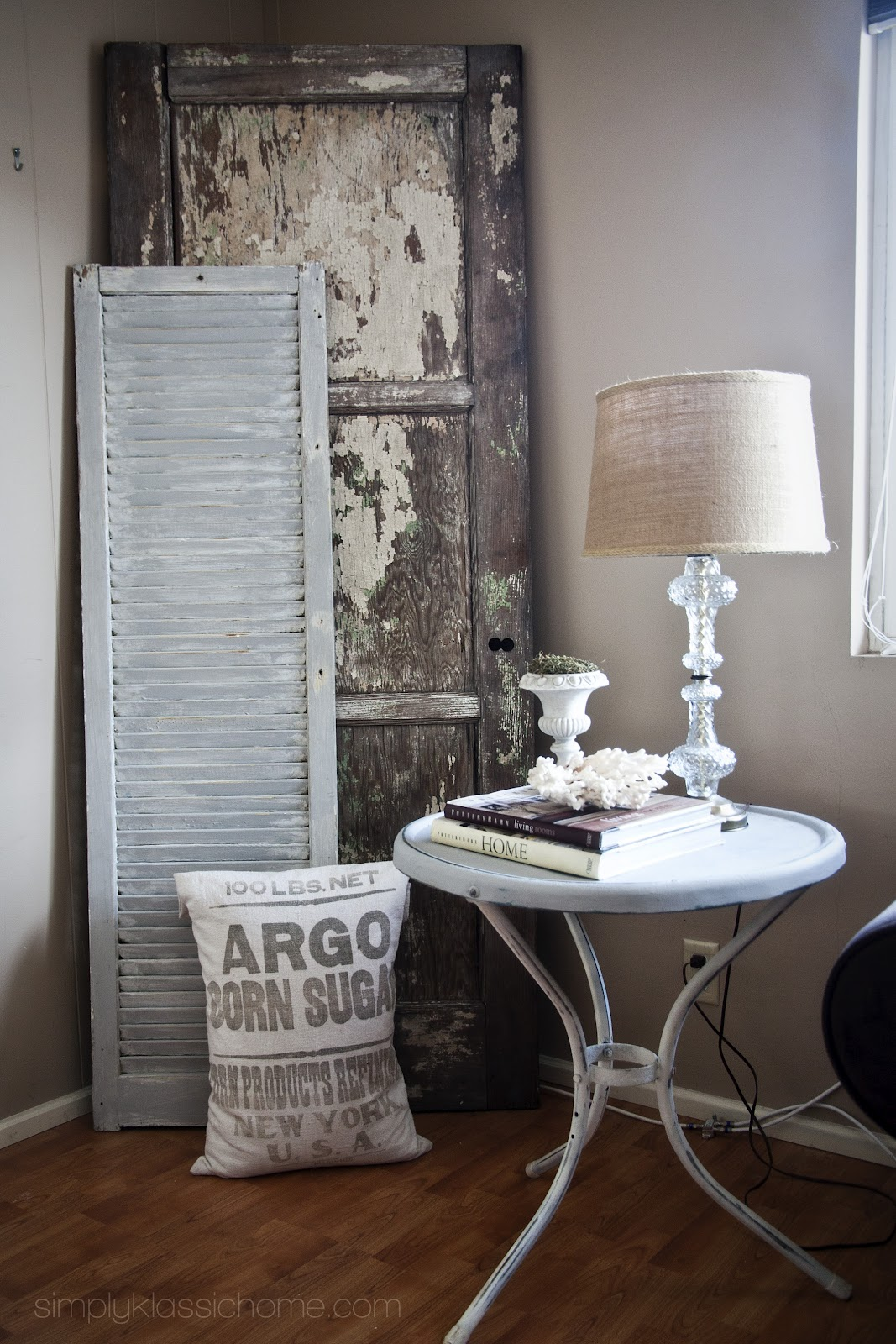 """A """"New"""" Table and An """"Old"""" Door - Yellow Bliss Road"""