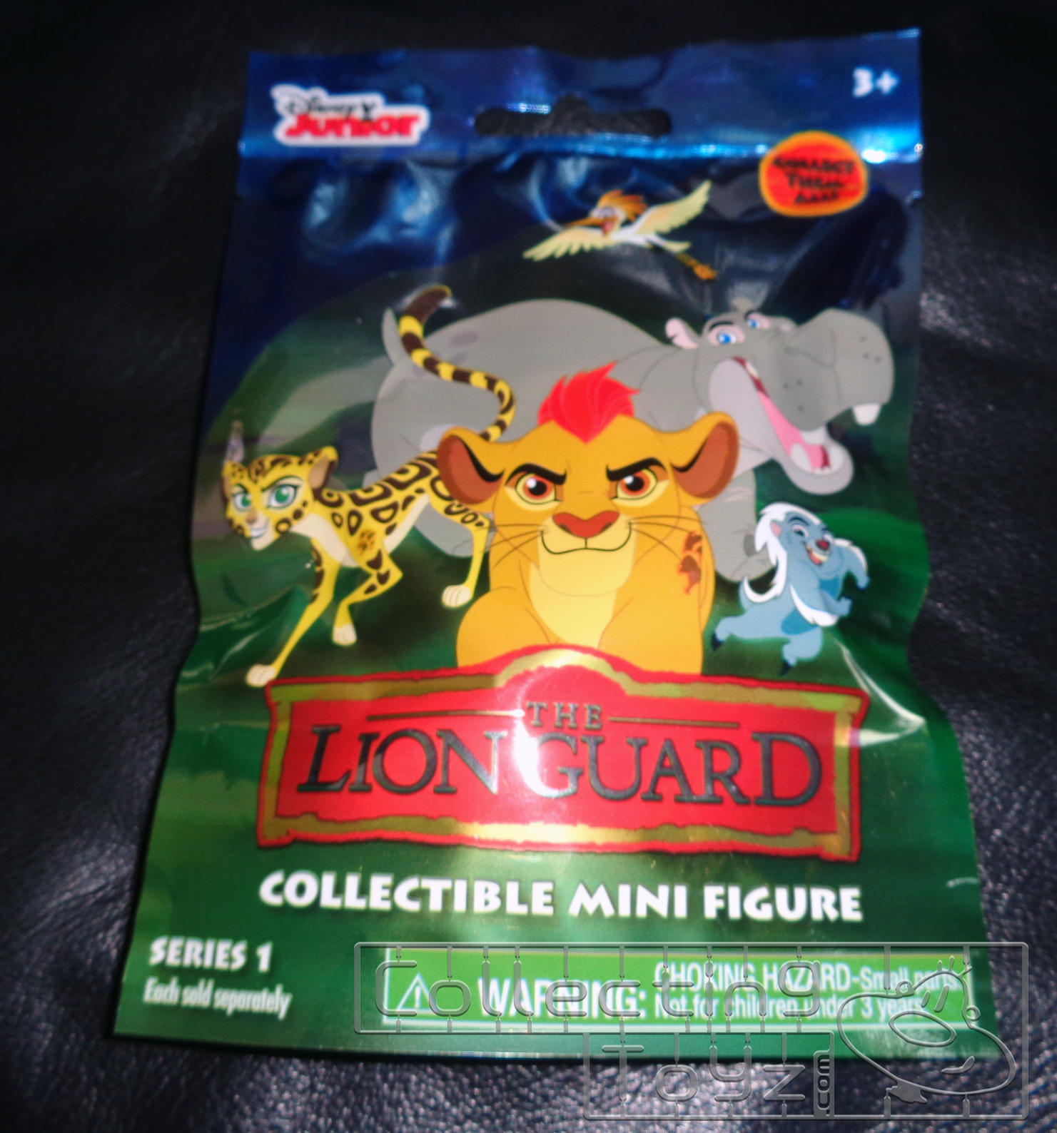 ef60b583cbb Disney Junior's The Lion Guard Collectible Mini Figure Blind Bag Series 1.  Picked this up a while back. You can pick these blind bags up at various ...