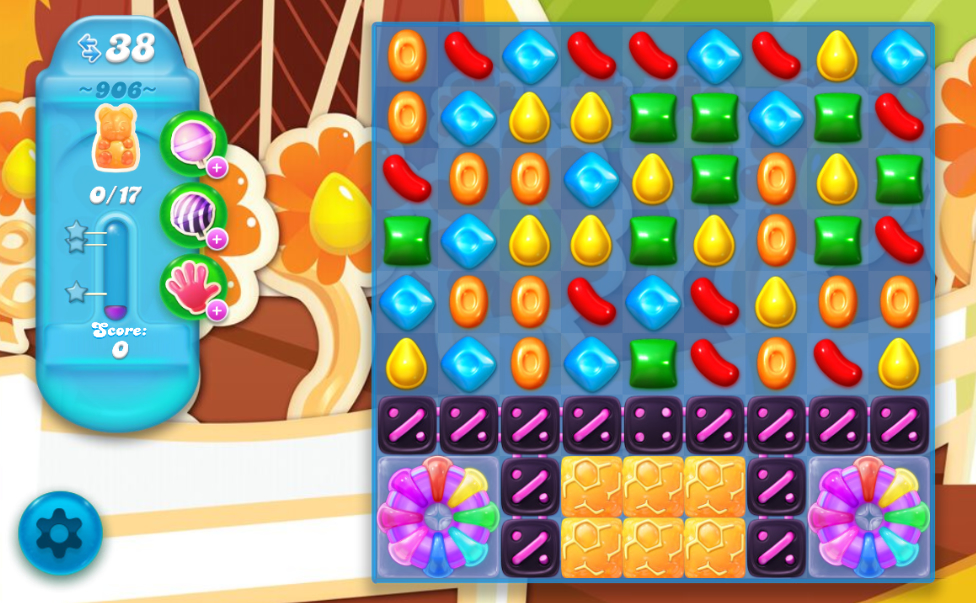 Candy Crush Soda Saga 906