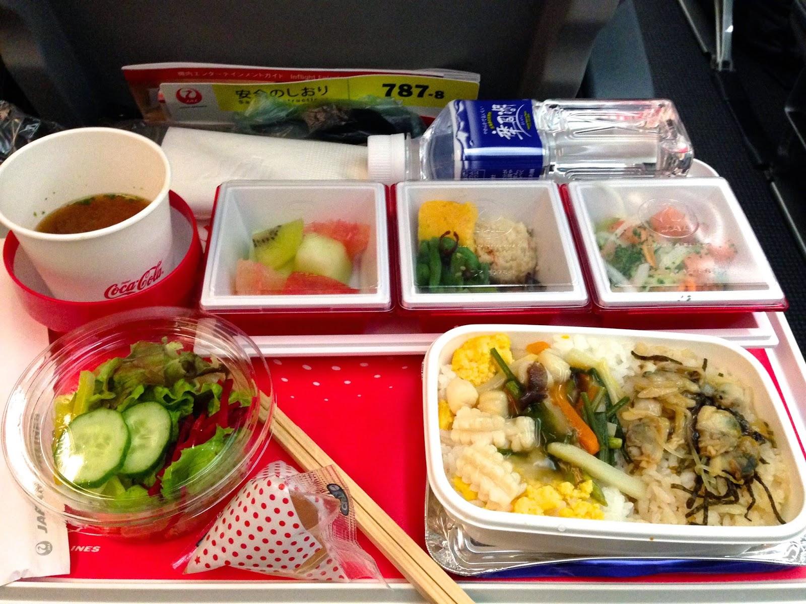 JAL SKY SUITE 787 Vietnam JL751 Flight meal JALスカイスイート787ベトナム線機内食