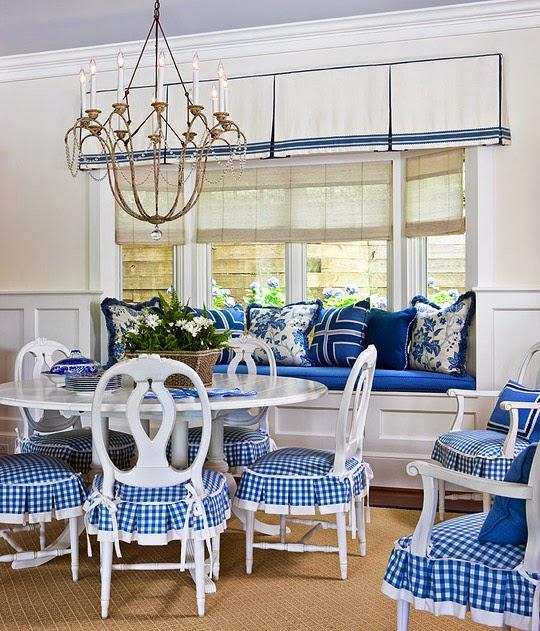 Blue Interior Design Ideas: ANNALINE INTERIOR DESIGN: Projektowanie Wnętrz W