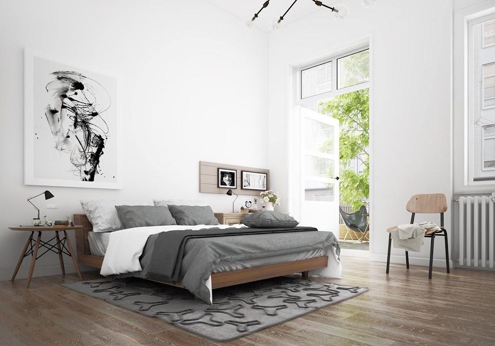 artistic-minimalist-scandinavian-bedroom