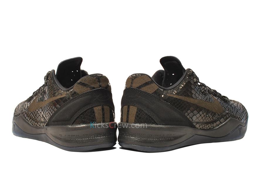 separation shoes 98607 45b31 Nike Zoom Kobe 8 EXT  u2014 Black Mamba Year Of Snake